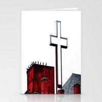 Bird Church Stationery Cards