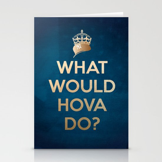What Would Hova Do? - Jay-Z Stationery Card