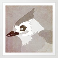 Tufted Titmouse Art Print
