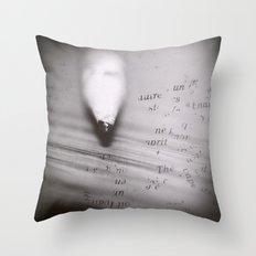 Pencil Dilemma Throw Pillow