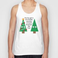 Spruced Up Unisex Tank Top