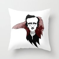 Dreary Midnight Throw Pillow