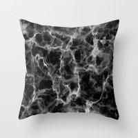 Marble No. 2 Throw Pillow