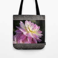 Frosted Dahlia Named San… Tote Bag