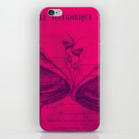 Anatomy of a Kiss. iPhone & iPod Skin