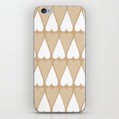 Sugar Heart Pattern iPhone & iPod Skin