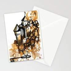 Castle float Stationery Cards