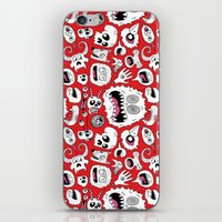 Another Monster Pattern iPhone & iPod Skin