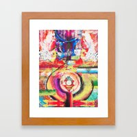 Aliveness Framed Art Print