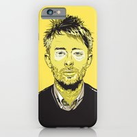 iPhone & iPod Case featuring Thom Yorke by Matt Fontaine