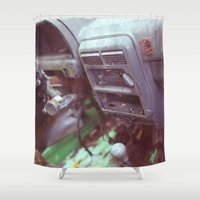 Aging Shower Curtain