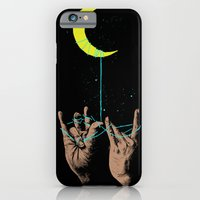 iPhone Cases featuring MOON by GENO75