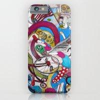 Moon Trike City iPhone 6 Slim Case