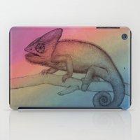 Chameleon (3) iPad Case