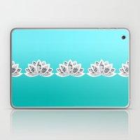 blue lotus Laptop & iPad Skin
