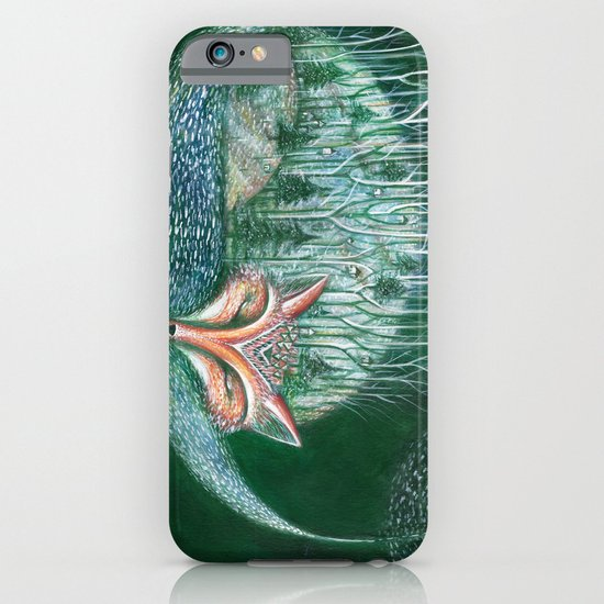 white forest iPhone & iPod Case