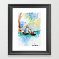 Day at the Park Framed Art Print