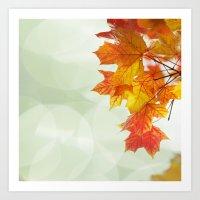 Wonderful Autumn Art Print