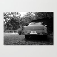 The Car Canvas Print