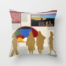 El Burrito Throw Pillow
