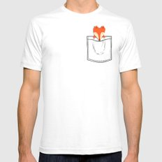 My Pet SMALL Mens Fitted Tee White