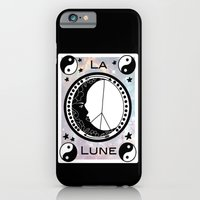iPhone & iPod Case featuring La Lune by Lauren dunn