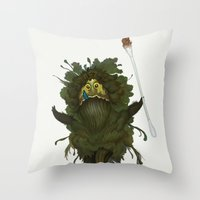King Kawak Throw Pillow