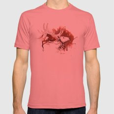Wapiti Mens Fitted Tee Pomegranate SMALL