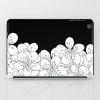 Cherry Blossom Boarder iPad Case