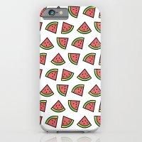 Chunks of Watermelon iPhone 6 Slim Case