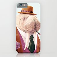 iPhone & iPod Case featuring Walrus by Animal Crew