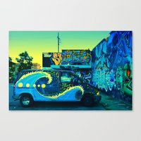 At The End Of The Day ..… Canvas Print