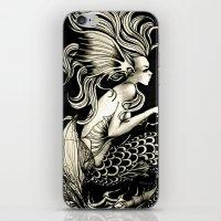 fish story iPhone & iPod Skin