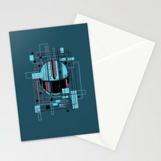 Reticent. Stationery Cards