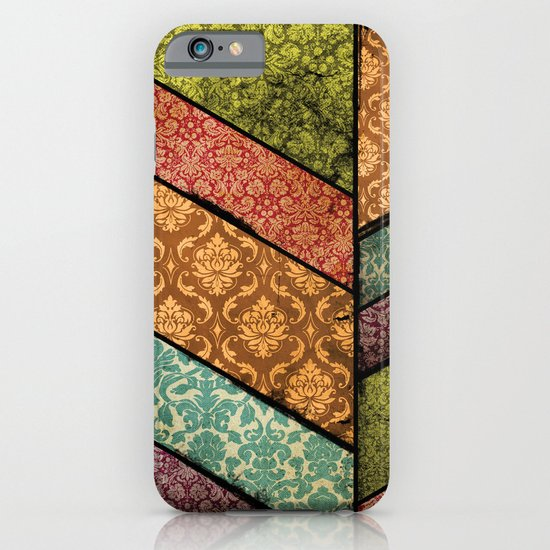 Vintage Material Chevron iPhone & iPod Case