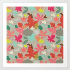 spring and fall Art Print