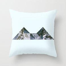 Glacier Throw Pillow