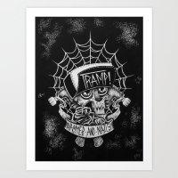 Hammer N Nails Art Print