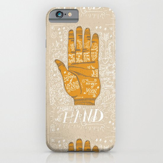 THE PALM READER iPhone & iPod Case