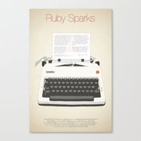 Ruby Sparks Canvas Print
