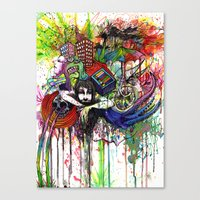 Color Tv Canvas Print