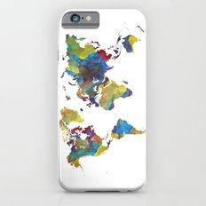 World Map 2050 iPhone 6 Slim Case