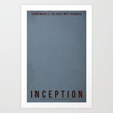 Minimalist Inception Art Print