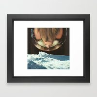 Down To Earth 2 Framed Art Print
