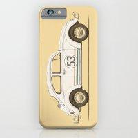 Famous Car #4 - VW Beetle iPhone 6 Slim Case
