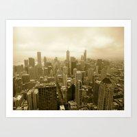 Chicago - View From John… Art Print