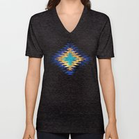 Inverted Navajo Suns Unisex V-Neck