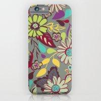 Large Bright Blooms iPhone 6 Slim Case