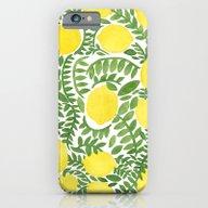 The Fresh Lemon iPhone 6 Slim Case