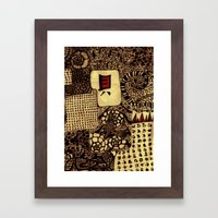 Life 2 Framed Art Print
